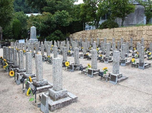 ロシア兵墓地写真