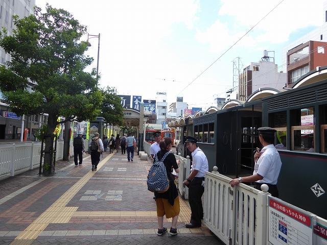 松山市駅 坊ちゃん列車